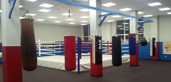 боксерский зал фото